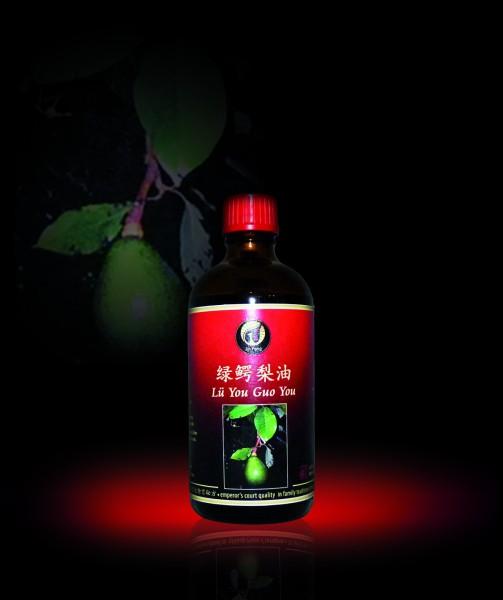 Grünes Avocado-Öl