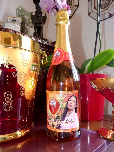 Edler Jahrgangs-Sekt Rosé TEMPEL DER ORCHIDEE